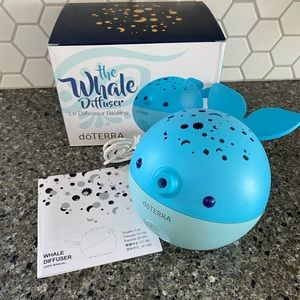 Essential oil Whale diffuser by Doterra